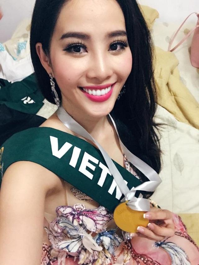Đây là huy chương đầu tiên của một đại diện Việt Nam giành được trong phần thi phụ tại cuộc thi Hoa hậu Trái đất. Đó là niềm khích lệ cũng như động lực để Nam Em tiếp tục hành trình chinh phục cuộc thi Hoa hậu Trái đất 2016.