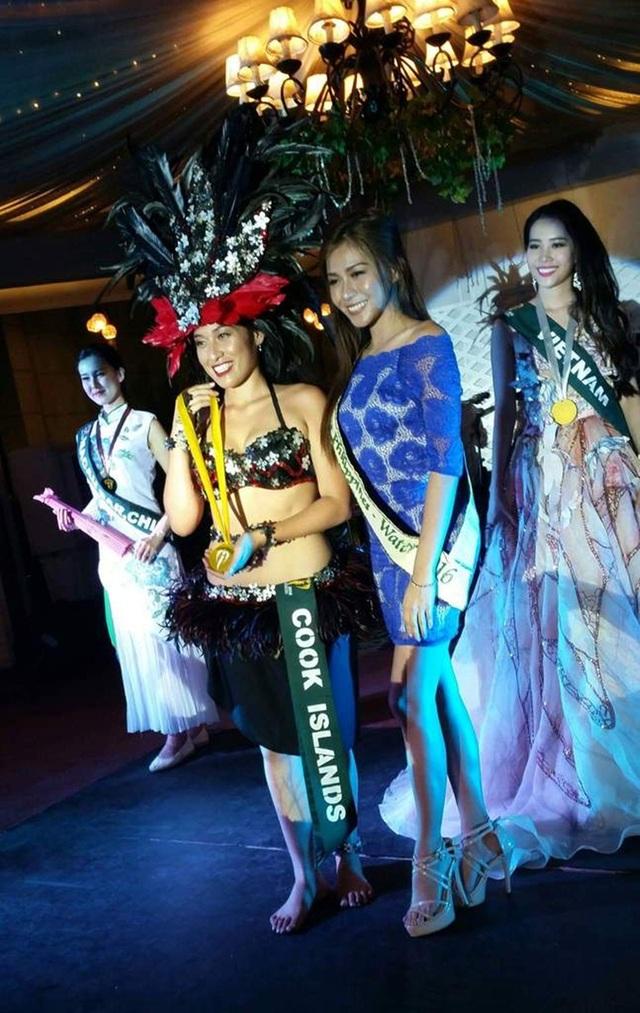 Đại diện Việt Nam tại Miss Earth 2016 Nam Em đã đoạt được Huy chương Bạc phần thi tài năng với tiết mục hát You raise me up. Đoạt Huy chương Vàng là đại diện đến từ đảo Cook trong khi thí sinh Macau nhận Huy chương Đồng.