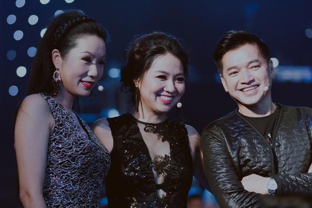 Nghệ sĩ Quang Minh, Lê Khánh và Á hậu Trịnh Kim Chi.
