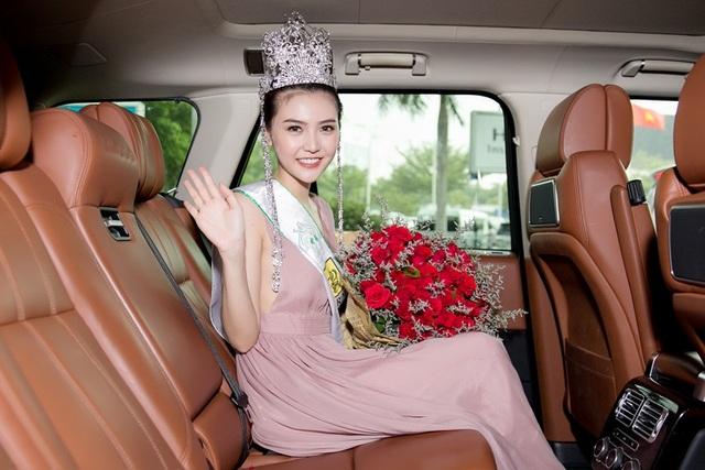 Sau khi trở về Việt Nam, Ngọc Duyên sẽ có chuyến tham gia hoạt động từ thiện tại quê nhà.