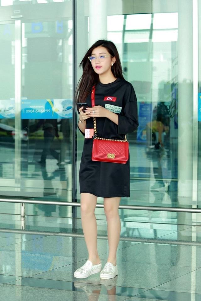 Á hậu Huyền My được mời sang Malaysia diễn thời trang - 10