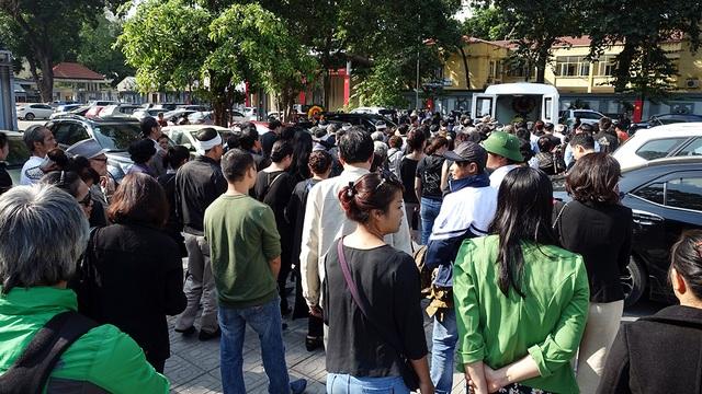 Những hình ảnh xúc động trong tang lễ NSƯT Phạm Bằng - 25
