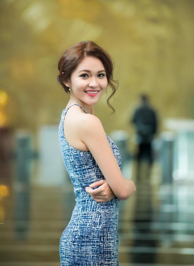 Á hậu 2 Hoa hậu Việt Nam 2016 Huỳnh Thị Thùy Dung.