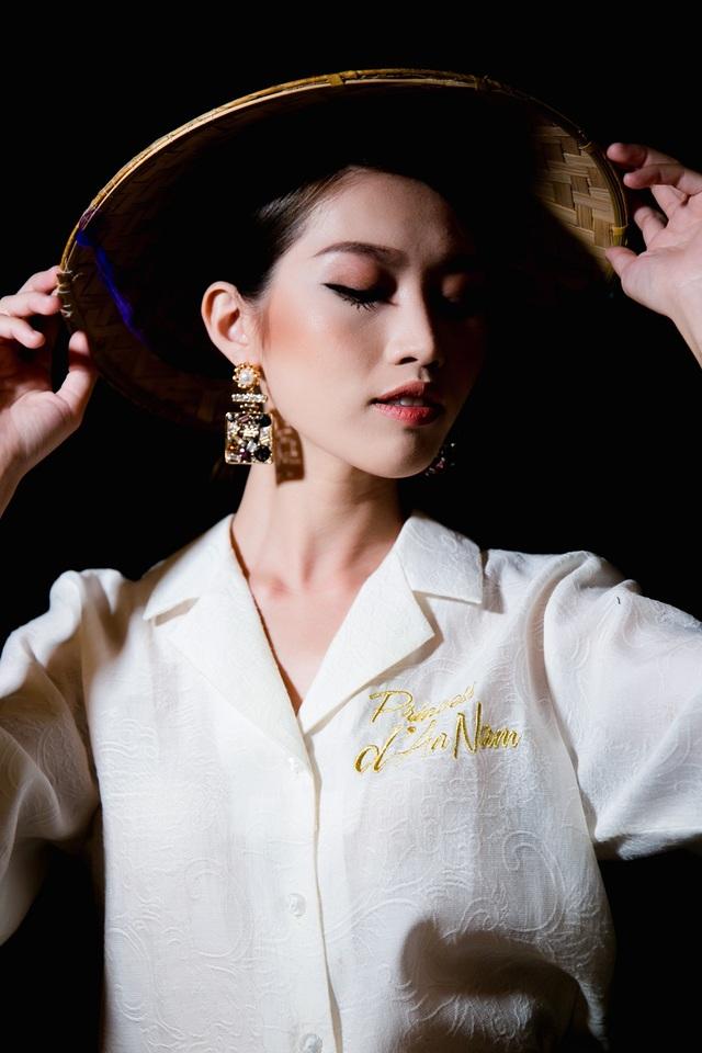 """Quỳnh Châu là một người mẫu từng đi ra từ cuộc thi """"Vietnam's Next Top Model 2014""""."""