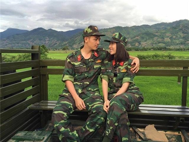 Từng bị đồn yêu nhau nhưng Hồng Loan khẳng định cô và chàng hot boy phát thanh viên Hải Dương chỉ là bạn diễn của nhau.