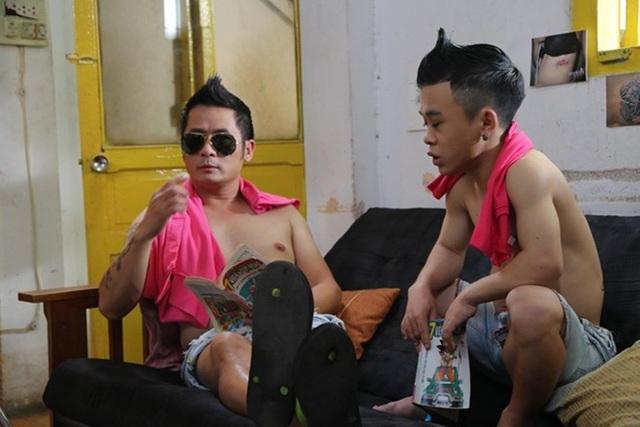 Ca sĩ Bằng Kiều (trái) trong lần thứ 2 chạm ngõ điện ảnh.
