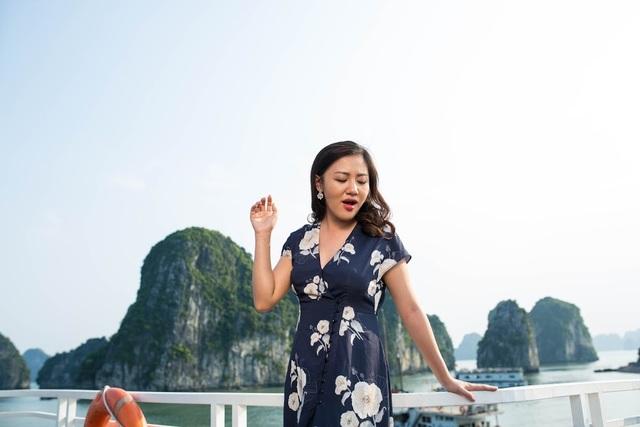 """Văn Mai Hương kể khoảnh khắc """"thót tim"""" trên đỉnh núi Bài Thơ - 4"""