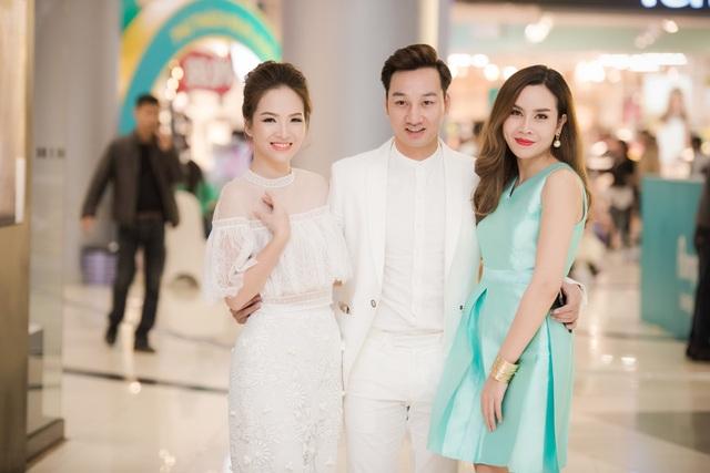 MC Thành Trung cũng xuất hiện tại sự kiện này. Được biết Thành Trung và Lưu Hương Giang cũng là những người bạn thân thiết ở ngoài đời.