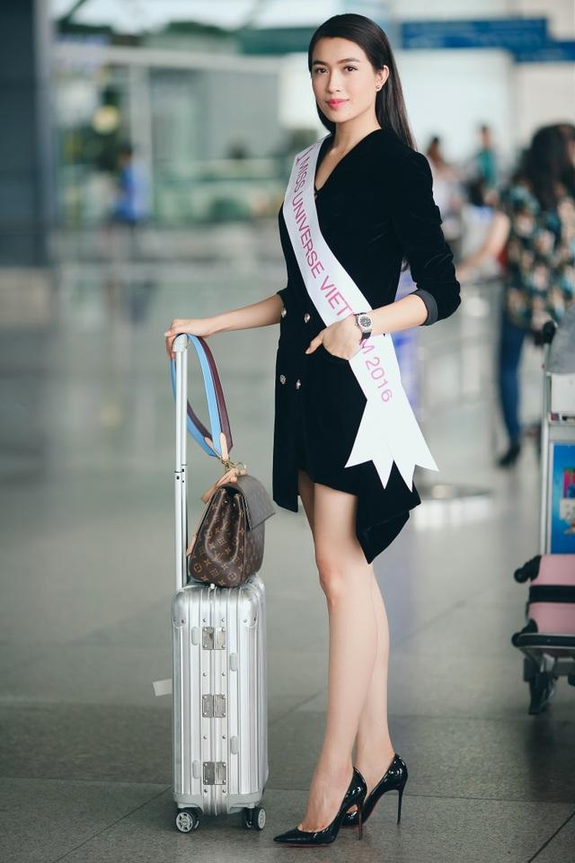Á hậu Lệ Hằng được CNN phỏng vấn khi vừa đặt chân đến Philippines - 2