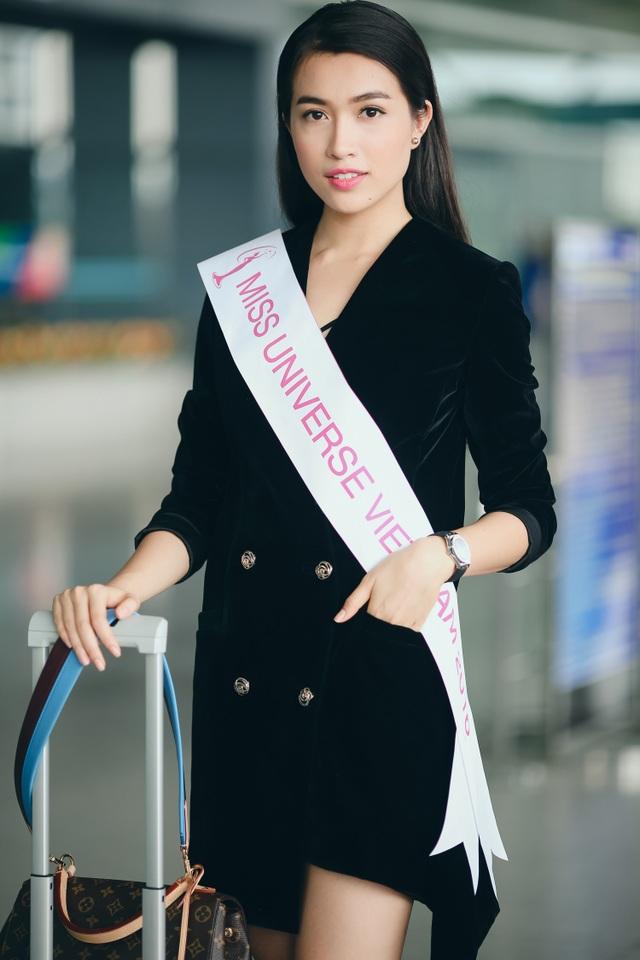 Á hậu Lệ Hằng được CNN phỏng vấn khi vừa đặt chân đến Philippines - 7