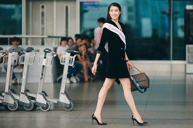 Á hậu Lệ Hằng được CNN phỏng vấn khi vừa đặt chân đến Philippines - 3