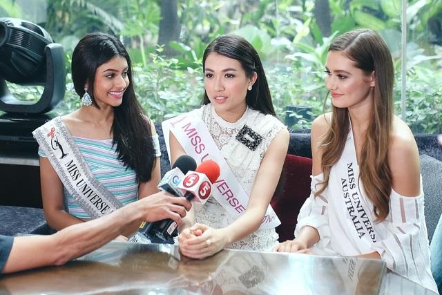 Cô tham gia trả lời phỏng vấn của Đài TV5 và GMA7.