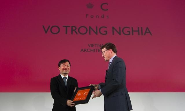 KTS. Võ Trọng Nghĩa đã tham dự và nhận giải thưởng Price Claus Awards 2016.