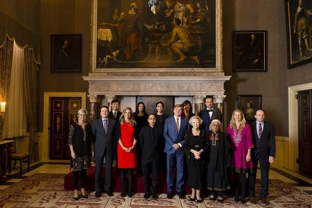 Buổi lễ trao giải lần thứ 20 cho giải thưởng Prince Claus Award 2016 đã diễn ra tại Cung điện Hoàng Gia Hà Lan