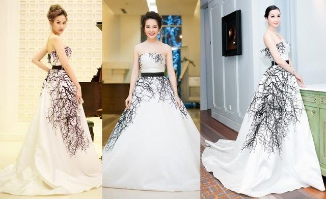Trang phục này từng được Á hậu Thụy Vân và MC Thanh Mai diện trước đó.