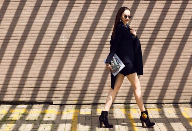 MC Kim Duyên khoe phong cách thời trang tựa nắng mai xuống phố - 6