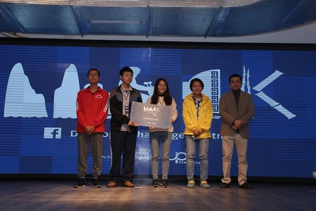 Giải Nữ Lập Trình Viên thuộc về Đội Fantastic Four.