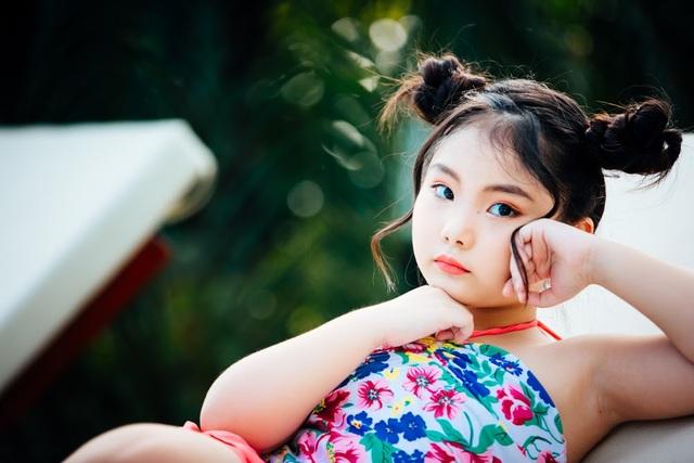 """Bộ ảnh """"con gái nhà ai"""" ngọt lịm của học trò siêu mẫu Thúy Hằng - 6"""