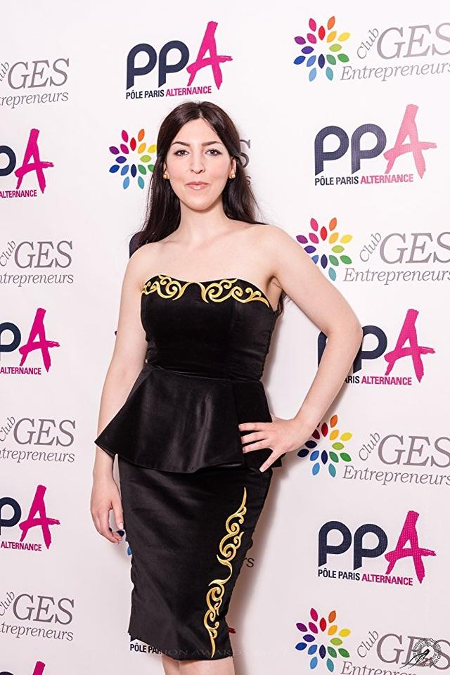 Nữ diễn viên Aurelia Khazan sẽ tham dự đêm diễn của NTK Đỗ Trịnh Hoài Nam.