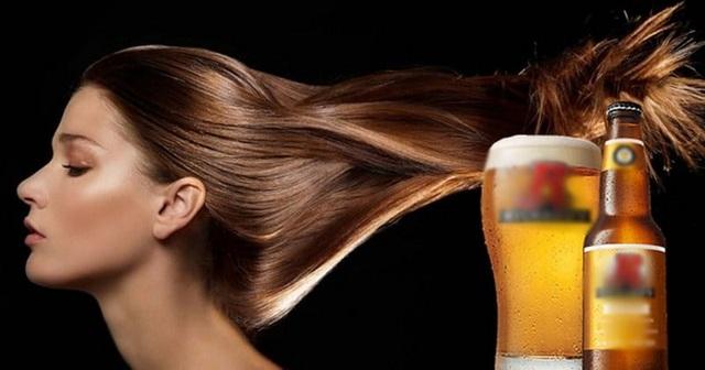 Bia không chỉ có tác dụng phục hồi tóc hư tổn mà còn kích thích tóc mọc nhanh và dày hơn