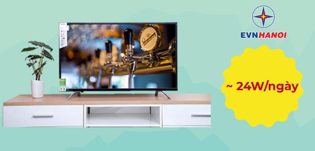 Nhiều người thường có thói quen tắt Tivi bằng điều khiển để tiết kiệm thời gian. Tuy nhiên, thiết bị sẽ được chuyển sang chế độ chờ và vẫn liên tục tiêu thụ một lượng điện không hề nhỏ. Qua các thí nghiệm, con số này có thể lên đến hơn 24W mỗi ngày, đặc biệt, năng lượng tiêu hao sẽ còn nhiều hơn đáng kể với các loại tivi được tích hợp nhiều công nghệ hiện đại và có kích thước lớn.