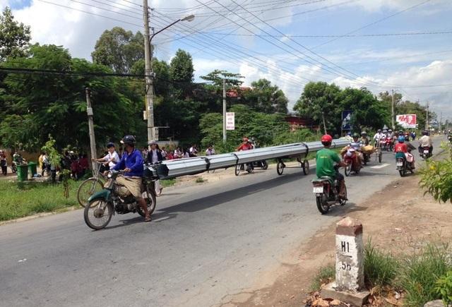 Đoạn quốc lộ 30, thị trấn Thanh Bình