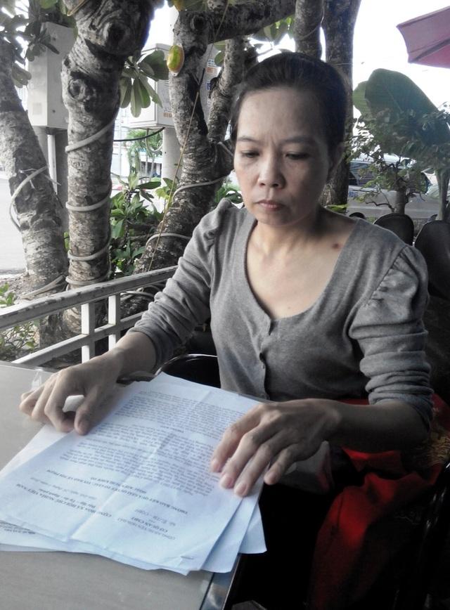 Do theo đuổi vụ kiện kéo dài từ 09/12/2011 đến nay, kinh tế, sức khỏe bà Hạnh thật sự kiệt quệ