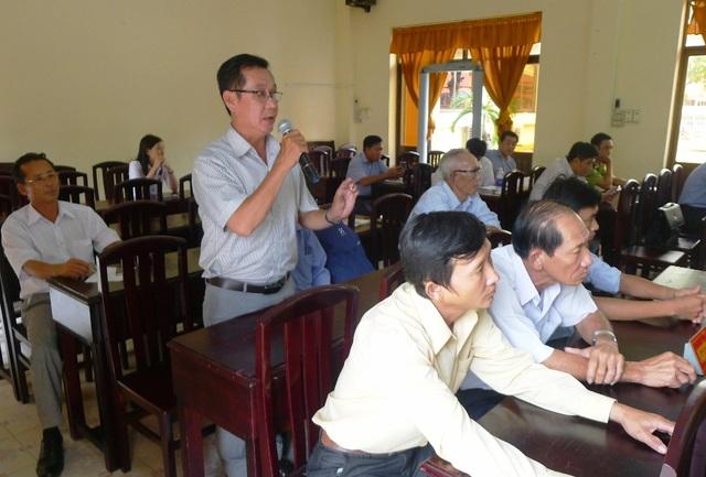Ông Nguyễn Chí Hùng - Trưởng ấp 3 tham gia cùng đơn vị đo đạc lại mảnh đất mà VKSND Phú Quốc truy tố tội phá rừng khẳng định, trong diện tích hơn 4.000m2 đất còn hơn 2.000 diện tích rừng nguyên vẹn, chưa có bàn tay con người tác động