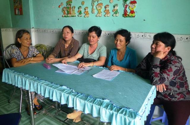 Theo kế hoạch đến tháng 11, cô Đào sẽ tiến hành trả nợ dần cho các giáo viên trường THCS Vĩnh Thạnh.