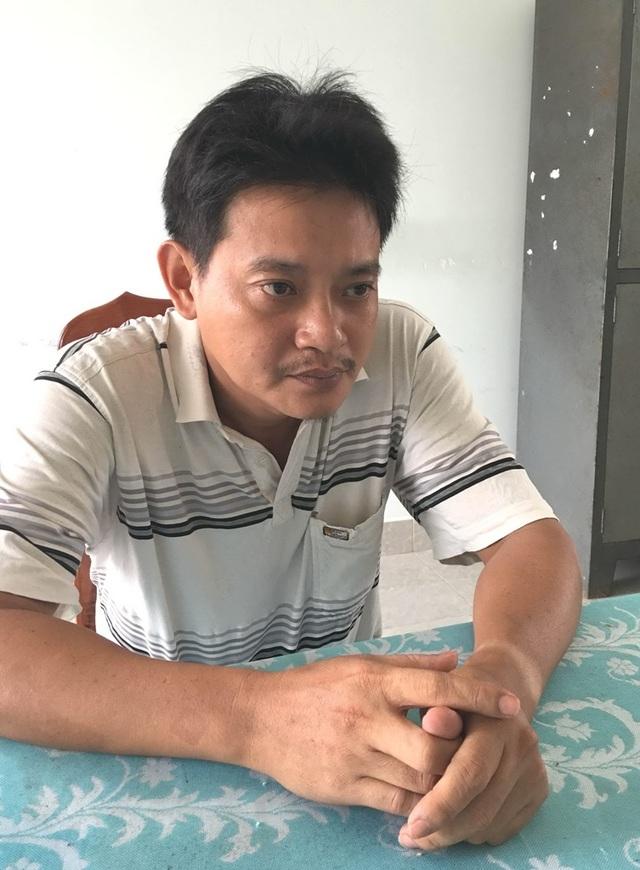 Đối tượng Nguyễn Hoàng Tuấn tại cơ quan điều tra