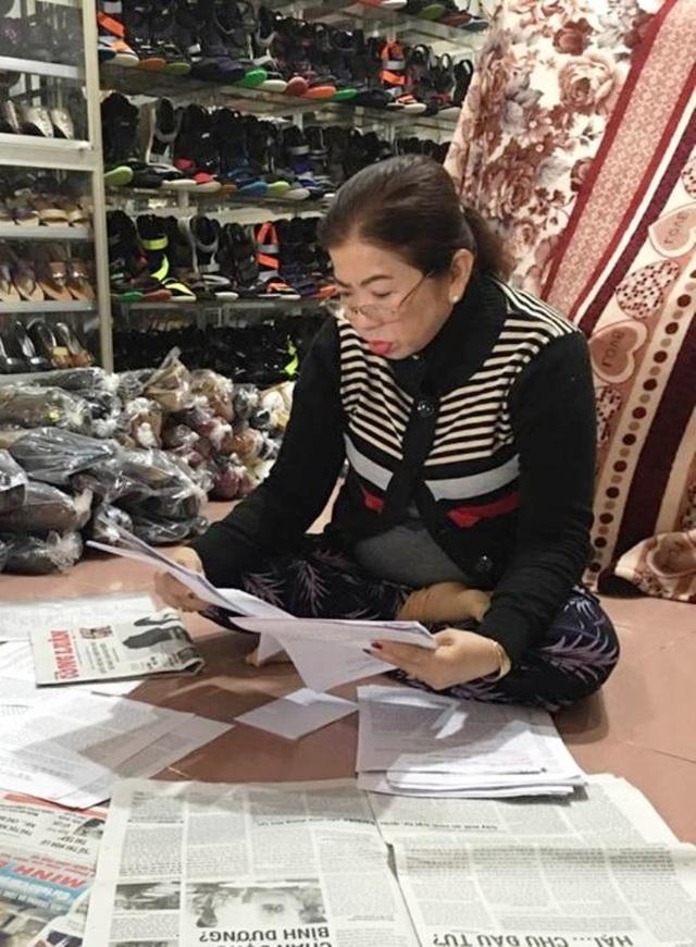 Bà Lư Hồng Nết đã gửi đơn khiếu nại đến các cơ quan chức năng vì tiếng ồn từ quán karoke Giai Điệu tiếp tục tra tấn gia đình bà