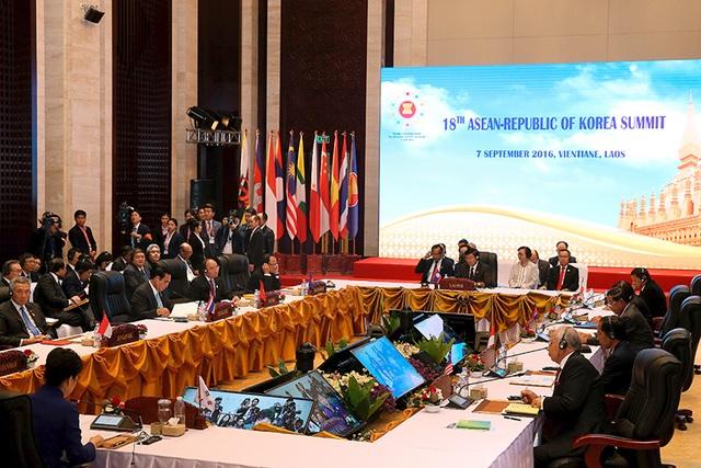 Quang cảnh hội nghị ASEAN - Hàn Quốc