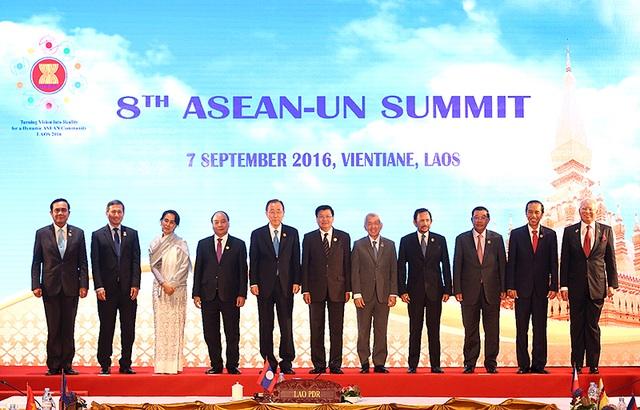 Các đại biểu tham dự hội nghị ASEAN - Liên hợp quốc.