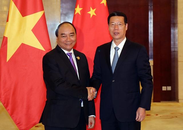 Phó Thủ tướng Trung Quốc Trương Cao Lệ hoan nghênh, chào đón Thủ tướng Nguyễn Xuân Phúc có chuyến thăm, làm việc tại nước này.