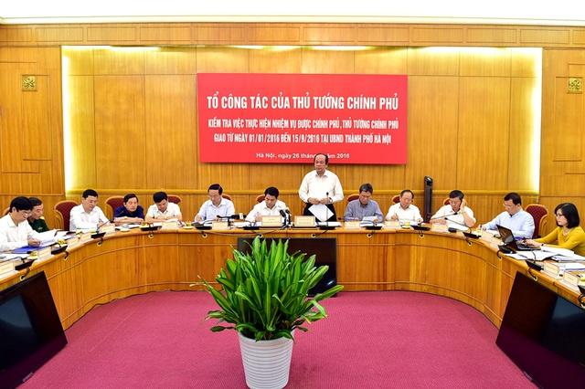 Hà Nội báo cáo không để nhiệm vụ nào quá hạn nhưng Tổ công tác của Thủ tướng chỉ rõ 9 việc đến nay vẫn chưa hoàn thành (ảnh: N.B.).