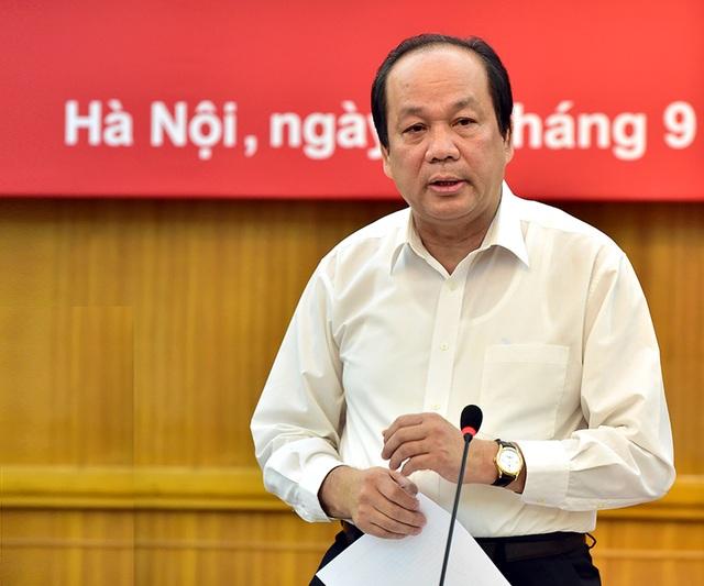 Bộ trưởng - Chủ nhiệm Văn phòng Chính phủ Mai Tiến Dũng là Tổ trưởng Tổ công tác của Thủ tướng. (Ảnh: N.B.)