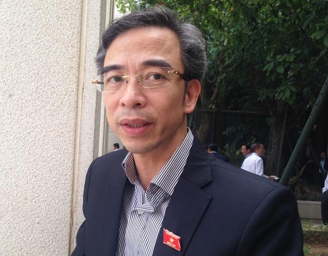 PGS.TS Nguyễn Quang Tuấn hiện là đại biểu Quốc hội của TP.Hà Nội.
