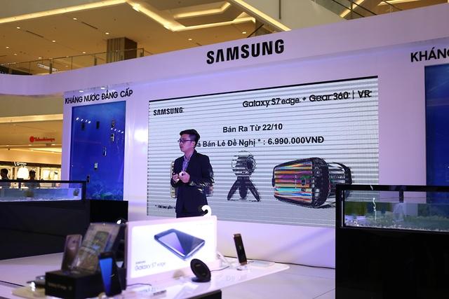 Với Samsung Gear 360, đây là sản phẩm bổ sung cho hệ sinh thái của Samsung cùng với Gear VR, đồng hồ Gear S2 và Galaxy S7/ S7 edge. Máy sẽ bán ra từ ngày 22/10 tới đây.