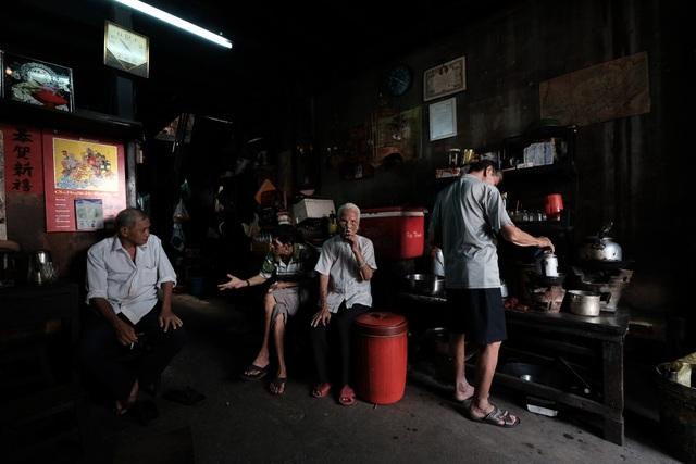 Ảnh đạt giải nhì chủ đề Cà phê Sài Gòn