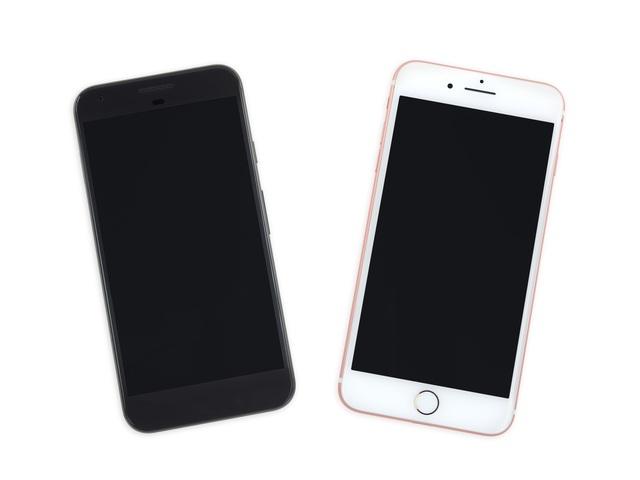 Google Pixel XL và iPhone 7 Plus