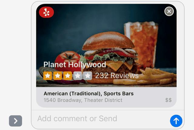 Top 5 ứng dụng thú vị tích hợp vào iMessage trên iOS 10 - 5