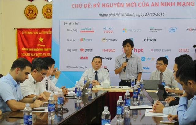 Ông Lê Thái Hỷ, Giám đốc Sở Thông tin và truyền thông TPHCM