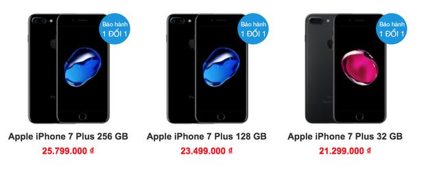 Giá iPhone 7 Plus xách tay