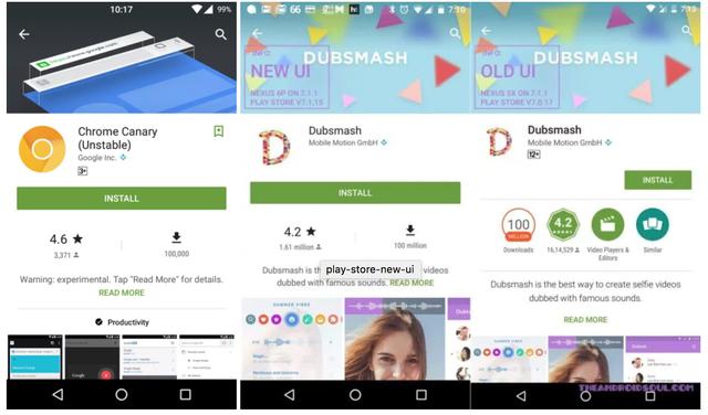 Một số người dùng đã được trải nghiệm giao diện mới của Play Store - 2