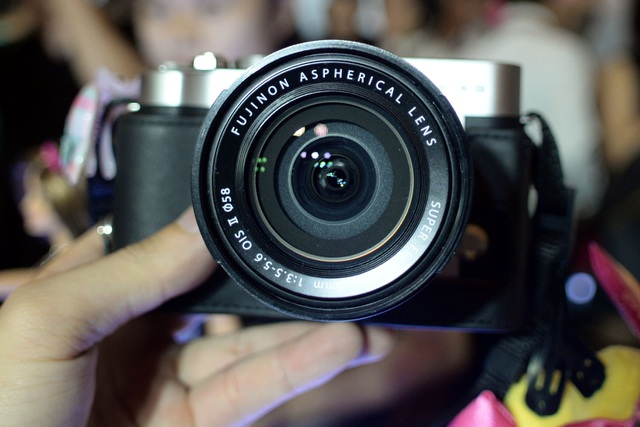 FujiFilm trình làng mẫu máy ảnh không gương lật X-A3 tại Việt Nam - 2