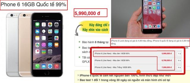 Cẩn thận khi mua sắm iPhone cũ dịp cuối năm - 2