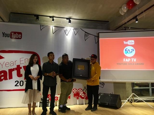 """Youtube trao """"Nút Play vàng và bạc"""" cho các nhà sáng tạo nổi bật ở Việt Nam - 1"""