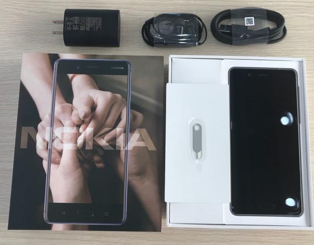 Nokia 8 sử dụng bộ vi xử lý cao cấp nhất của Qualcomm – Snapdragon 835, RAM 4GB và ROM 64GB