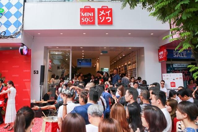 Cửa hàng MINISO tại số 53 Thái Hà, Q.Đống Đa