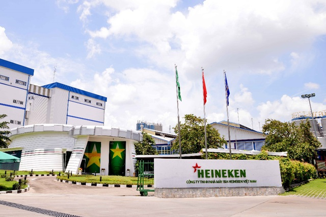 Nhà máy bia Heineken Việt Nam là một trong những nhà máy hiện đại nhất trên toàn cầu